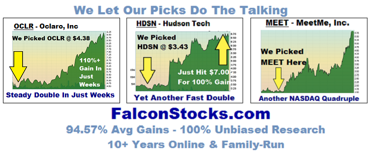 Penny Stock Picks